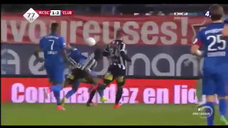 Triplete de José Izquierdo   Charleroi 1 3 Club Brugge KV