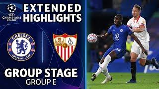 Chelsea vs. Sevilla: Extended Highlights   UCL on CBS