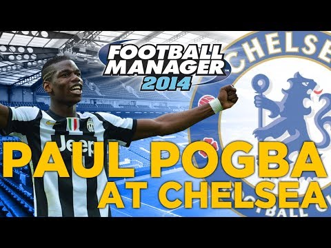 Paul Pogba at Chelsea FC - Football Manager Experiment