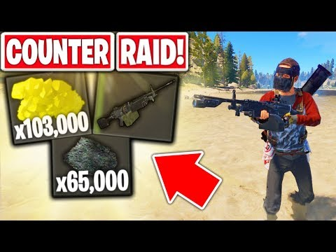 I Became The COUNTER RAIDER! - Rust Solo Counter Raiding