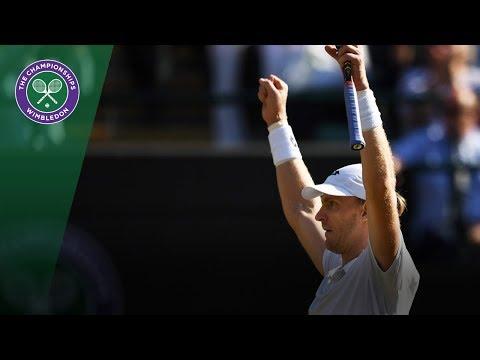 Roger Federer vs Kevin Anderson QF Highlights | Wimbledon 2018