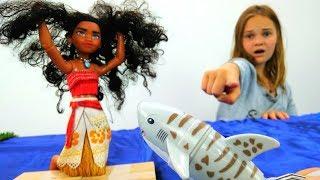 Мультики для девочек: Моана и игрушки - Видео для детей