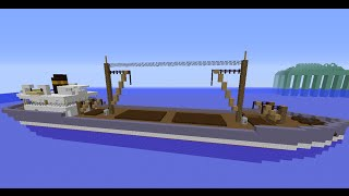 Minecraft Old Cargo Ship