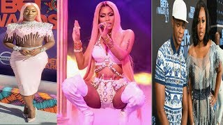 Nicki Minaj and Spice Shade Remy Ma & Papoose At The BET Awards Show