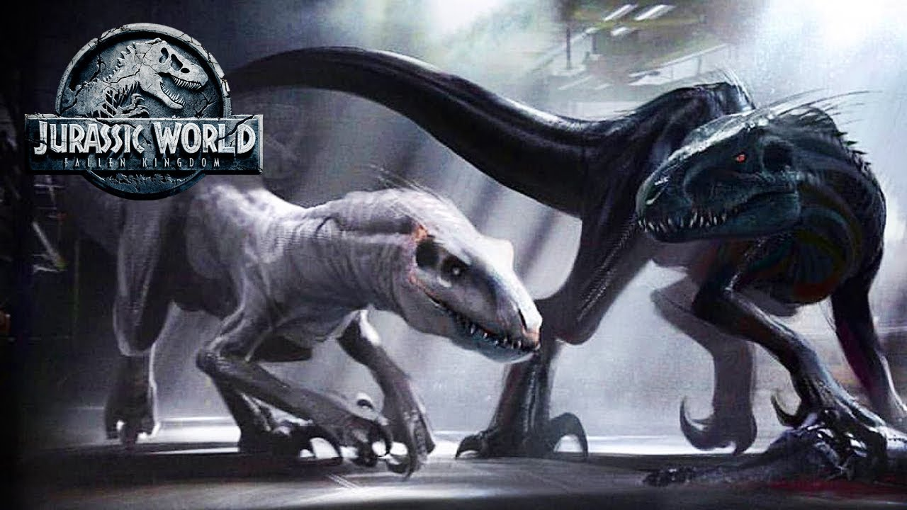 There Was A WHITE INDORAPTOR? | Jurassic World: Fallen Kingdom Concept Art