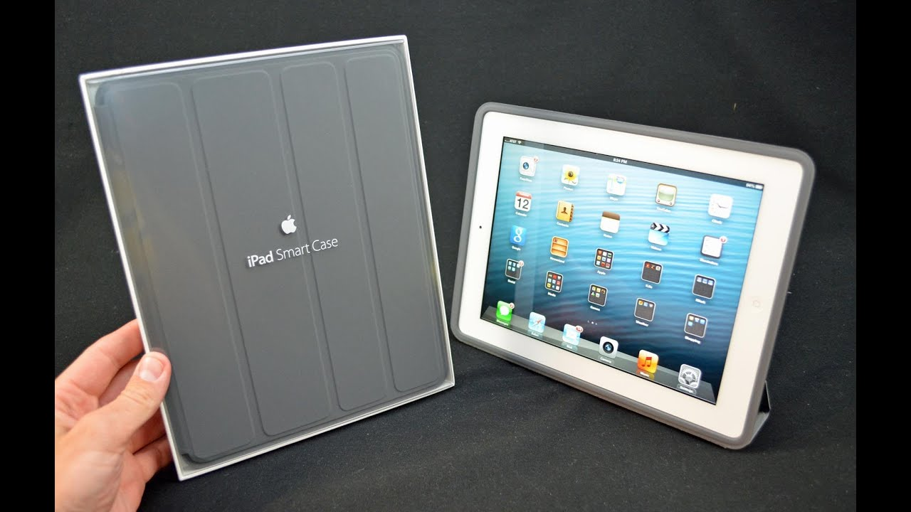apple ipad smart case unboxing review youtube. Black Bedroom Furniture Sets. Home Design Ideas