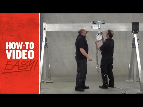 How To Assemble A Gantry - Kennards Hire