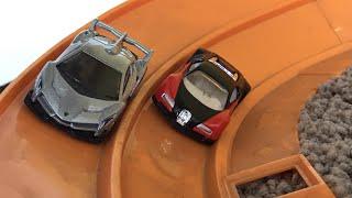 Hot Wheels Bugatti Veyron Vs Lamborghini Veneno