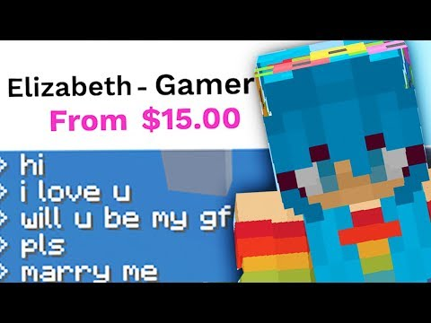 PAYING 'GAMER GIRLS' TO PLAY MINECRAFT WITH ME