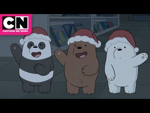 We Bare Bears | The Fake Santa Robbery | Cartoon Network