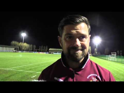 Stourbridge FA Trophy Highlights And Interview (15/16 Season)