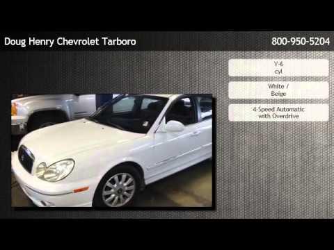 Doug Henry Tarboro Nc >> 2003 Hyundai Sonata GLS - Raleigh - YouTube