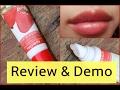 patanjali strawberry lip balm review & demo | honest review