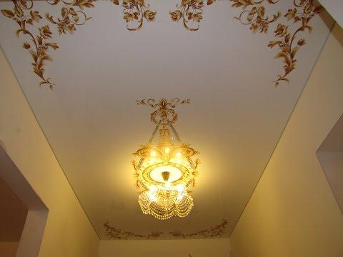 Натяжные потолки в маленьком коридоре,  компания  «Строй Сервис»