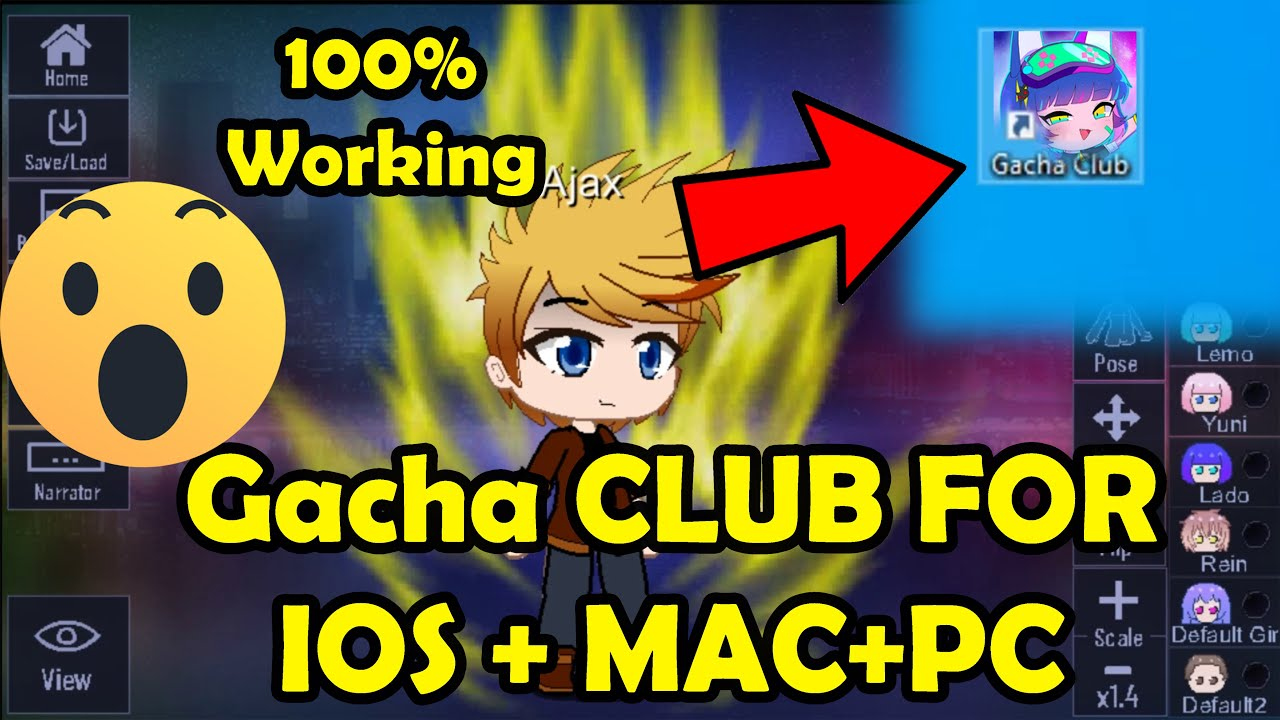 Download Gacha Club For IOS + MAC or PC Users  How to download
