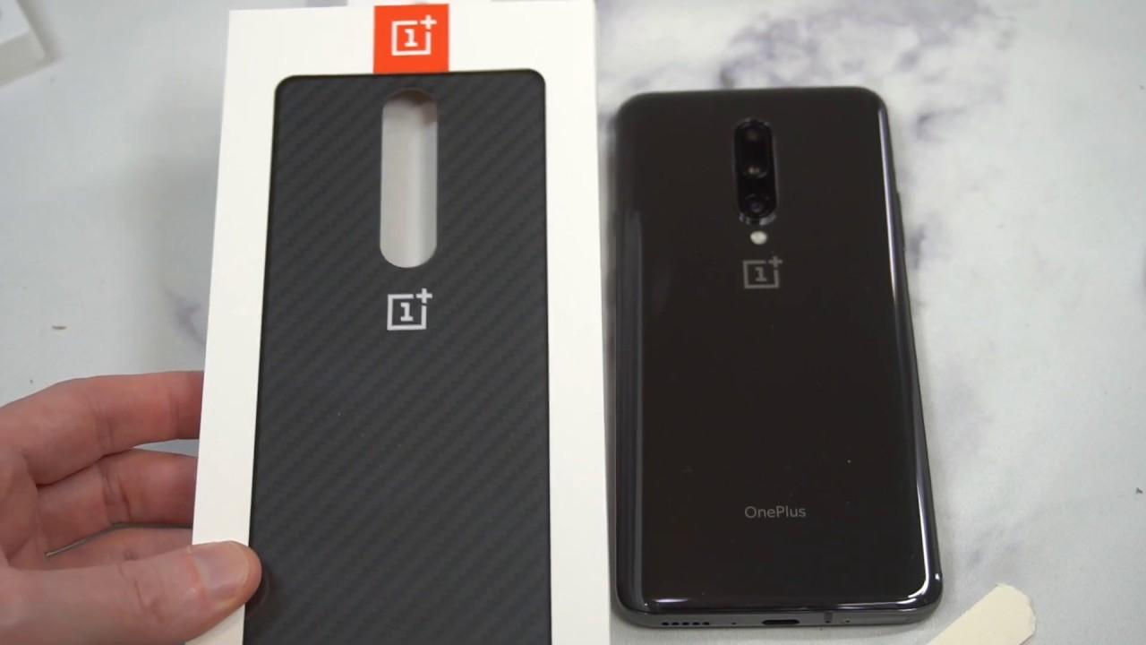 newest b4ef5 88712 OnePlus 7 Pro Protective Case Karbon Unboxing and Review