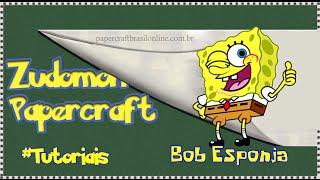 Bob Esponja Papercraft - Tutorial