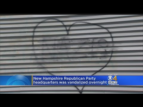 Vandals Spray Paint 'Nazis' On NH GOP Headquarters