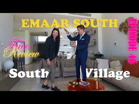 Fair review of family villa in Emaar South Dubai. Golf Links and Urbana