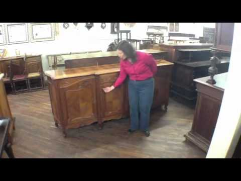 dating antique dresser