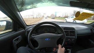 2011 Ваз 2110 1.6l Pov Test Drive