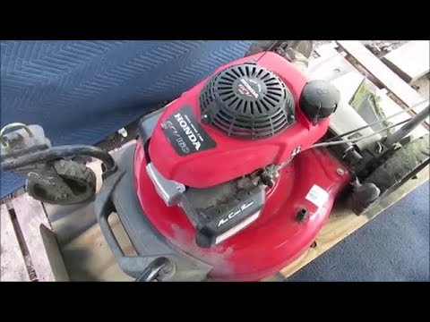 Honda GCV 160 Carburetor Remove & Clean Part 1