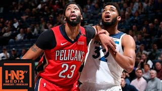 Minnesota Timberwolves vs New Orleans Pelicans Full Game Highlights | 11.14.2018, NBA Season