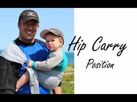 416decde5d7 BabyWombWorld Ring Sling - Hip Carry Tutorial - YouTube