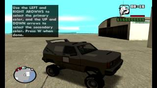 gta sa mod menu gameplay