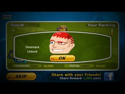 HOW TO UNLOCK DENMARK ! - HEAD SOCCER (MAJOR LEAGUE )  part 3 (winner)