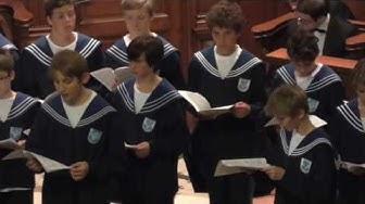 """Zürcher Sängerknaben """"Missa Brevis in D"""" Benjamin Britten (Reformierte Kirche Zürich-Enge 18.09.16)"""