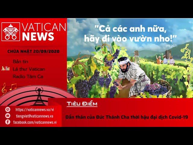 Radio: Vatican News Tiếng Việt Chúa Nhật 20.09.2020