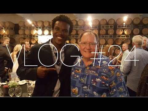 Vlog #24 - This Guy Created Toy Story & Cars! John Lasseter