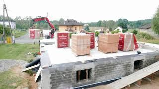 Budowa domu systemem gospodarczym cz. IV - Izolacja piwnicy, ściany parteru