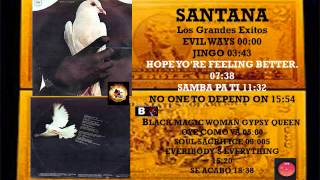 SANTANA   Side    B    BLACK MAGIC WOMAN GYPSY QUEEN    Format V