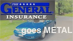 The General Car Insurance (Hardcore/Metal Cover)