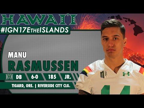 University of Hawaii Football Mid-Year Signee Manu Rasmussen