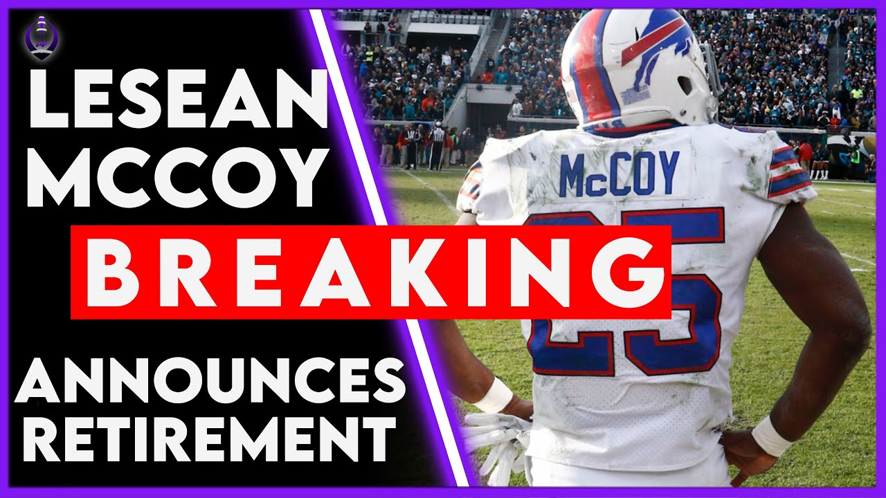 LeSean McCoy signs 1-day contract to retire with Eagles