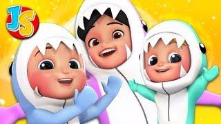 Baby Shark DoDoDo | Nursery Rhymes for Kids | Preschool Songs - Junior Squad