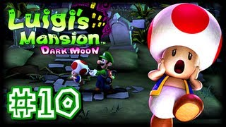 Luigi's Mansion Dark Moon - 3DS - (1080p) Part 10 - B-3 Graveyard Shift