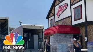 Small Businesses Feel Second Round Of Pain As Some States Roll Back Reopenings   NBC Nightly News