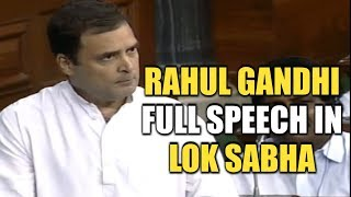 Rahul Gandhi Hugs PM Narendra Modi After A Sharp Attack