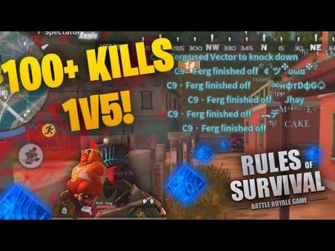 100+ Kills Solo