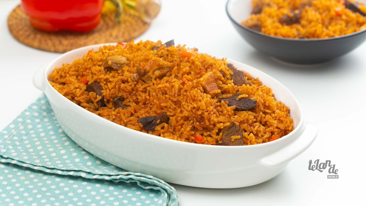 Chicken Jollof Rice African Recipe - Recipes From A Pantry  |Chicken And Jollof Rice