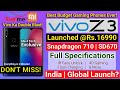Vivo Z3 India Launch Soon? SD670 @Rs.16990! Full Specifications Review | Vivo Z3 2018 Global Launch?