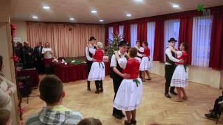 Sárkeresztesi Ifjúsági Néptánccsoport Falukarácsonyi Fellépése 2016