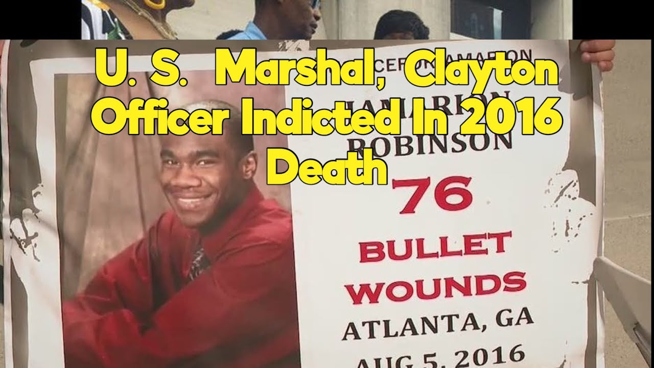Shooting of Jamarion Robinson: Police Officers Indicted In 26-Year-Old's Death