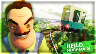 JEDU VE VLAKU! | Hello Neighbor #6