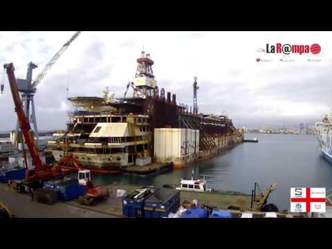 Timelapse Costa Concordia