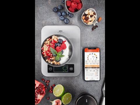 Küchenwaage SCORE, inkl. Nährwertanalyse-App